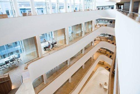 Sparebanken Vest sitt nye bygg på Engen i Bergen.