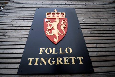 DOM: Dommen ble avsagt på mandag av Follo Tingrett.