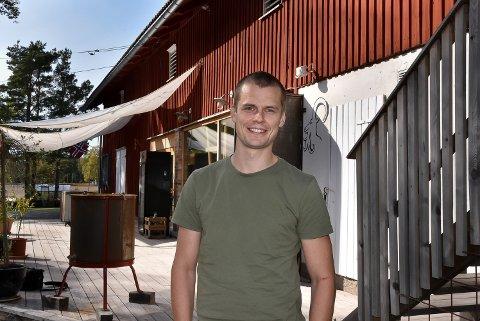 OPPFINNSOM: Martin Warnken, daglig leder Kreativ Catering, fant nye forretningsideer under korona.