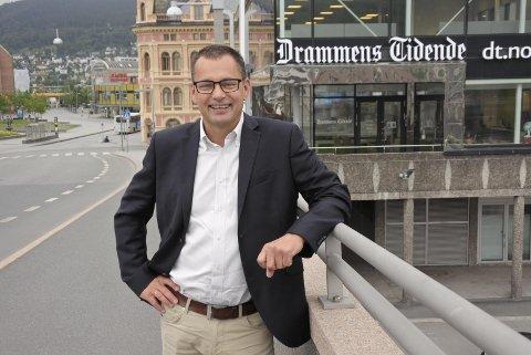 SJEF OGSÅ I VESTFOLD: Øyvind Bladt Hagen (54) blir regiondirektør for Vestfold og Buskerud.