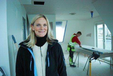 VET IKKE HELT HVA HUN VIL: Britt Røed Lohne slutter som toppsjef i Tønsberg-firmaet WK Entreprenør AS. Hun vet ikke helt hva hun vil drive med framover, skriver hun i en epost.