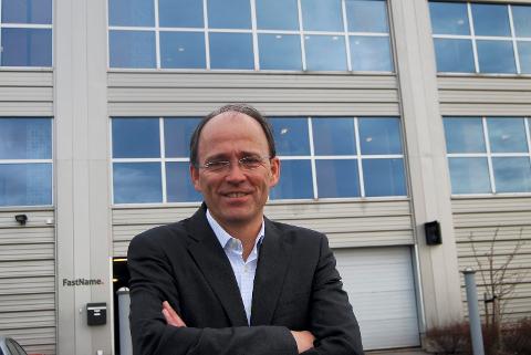 VIL VOKSE: Bjørnar T. Andersen, administrerende direktør for 4human, er svært fornøyd med oppkjøpet: – Vi valgte Visolit som ny eier av 4Human IT fordi 4human er et ambisiøst vekstselskap.