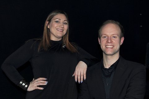 Marianne og Tollef, to profesjonelle artister!
