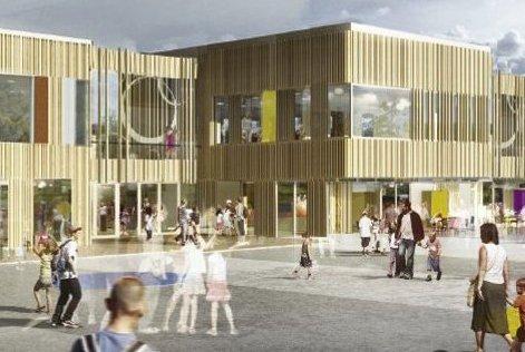 Ny skole: Til høsten starter AF Gruppen byggingen av ny skole på Solberg.