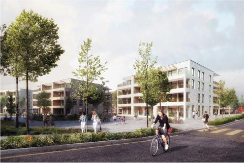 NYTT FORSLAG: Selvaag bolig vil komme med et nytt forslag til hvordan rundt 350 nye boliger kan bygges på Solberg.