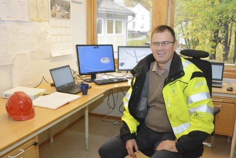BEKLAGER: Enhetsleder for eiendom og teknisk Einar W. Frøyna beklager at naboene på Randvik ikke ble varslet.