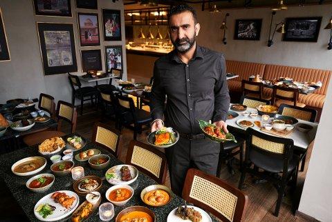 NY RESTAURANT: Baljit Singh åpne sin tredje restaurant i Oslo. Denne gang med en helt ny vri.