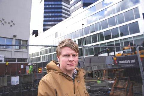 Sølve Rydland, frå Knarvik, er ein av dei som har søkt på stillinga som redaksjonssjef i NRK Vestland. Pressefoto