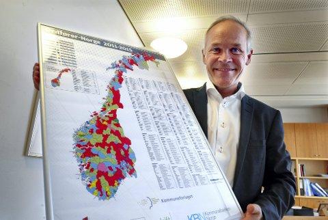 Det er et uttalt mål for kommunalminister Jan Tore Sanner og regjeringen å redusere antall kommuner i Norge.