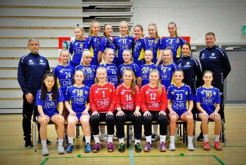 BHK J16 som deltar i Bringserien sesongen 2018/2019.