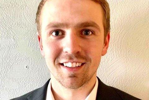 Johannes Marthinussen (25) fra Bodø er en av ti finalister til å bli konsernsjef for Adecco i sommer.