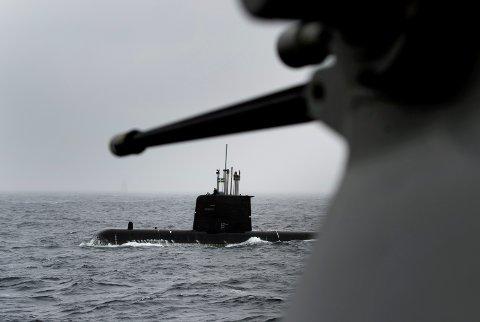 Hensikten med Dynamic Mongoose er å øve NATOs evne til å finne og uskadeliggjøre fiendtlige ubåter i alliansens nærområder. Her fra tilsvarende øvelse i 2015. Foto: Marit Hommedal / NTB scanpix.