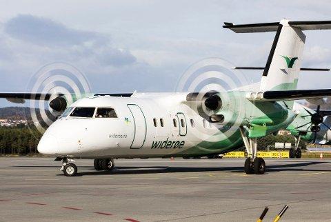 FORLENGES: Flyavtalen mellom staten og tre flyselskaper forlenges, noe som blant annet betyr at en bodørute opprettholdes tross lavt belegg.