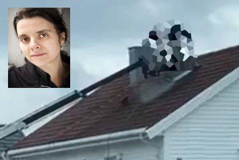 ANMELDER: Siri Martinsen og NOAH anmelder hendelsen der måkereir ble fjernet fra et hustak i Bodø.