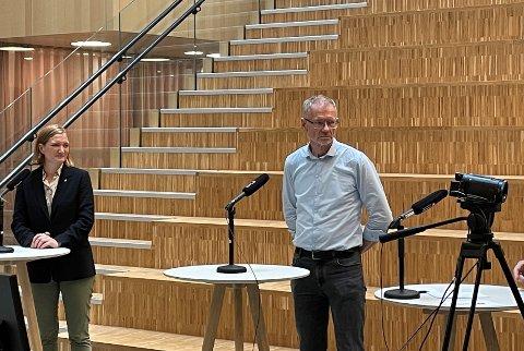 Smittevernoverlege i Bodø kommune Kai Brynjar Hagen føler seg trygg på at det ikke blir en ny krisesituasjon i Bodø.