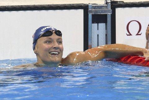 Rio de Janeiro, Brasil 20160810. Sommer-OL i Rio 2016 Kvalifisering 100 m fri kvinner Susann Bjørnsen,  Foto: Vidar Ruud / NTB scanpix