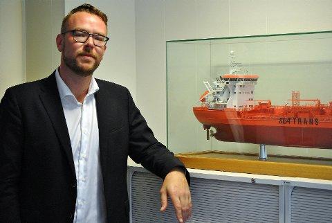 Daglig leder Harald Victor Hove i Maritime Bergen mener potensialet til å overføre godstransport fra vei til sjø er langt større enn transportetatene har forutsett. FOTO: SVEIN TORE HAVRE