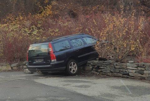 Politiet kjenner ikke til hva som har skjedd med bilen.