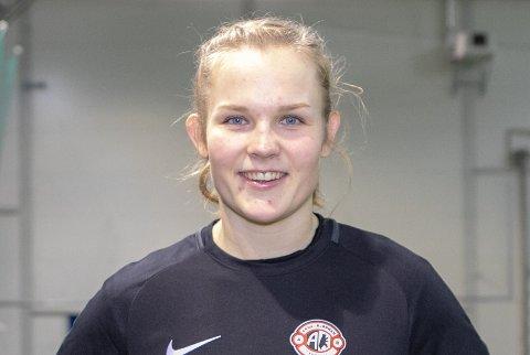 Oda Bogstad signerte for Arna-Bjørnar i vinter. Nå er hun klar for A-landslaget!