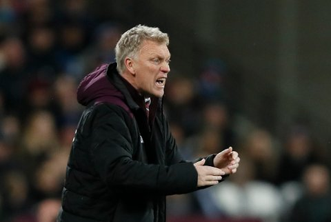 """FILE - In this Wednesday, Dec. 13, 2017 file photo West Ham's manager David Moyes shouts from the side line during the English Premier League soccer match between West Ham and Arsenal at the London stadium in London. Discarded for not being the """"high-caliber"""" manager desired by West Ham, David Moyes was brought back by the east London club on Sunday for a second spell in charge. (AP Photo/Kirsty Wigglesworth, File)"""