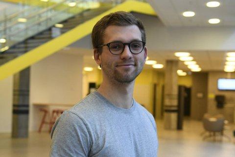 – Gøy å se at universitetene og høyskolene er opptatt av å finne gode løsninger for studentene sine, sier Jens Aarre Seip i Snapmentor.