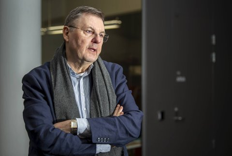 Smittevernoverlege Frank van Betten er bekymret for de unge, men ser positivt på utviklingen blant de aller yngste.