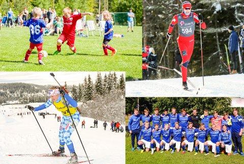 I SAMME DRAKT: Langrennsløpere, skiskyttere, fotball- og håndballspillere i samme drakt? Kan det bli realiteten i framtiden?