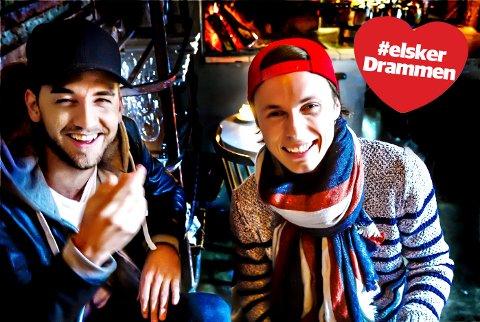 BROILER: Simen Auke (t.v.) og Mikkel Christiansen gjør stor suksess med egne låter så vel som remikser av andre. Broilers remiks av Imagine Dragons-låten «Shots» er blitt en stor hit.