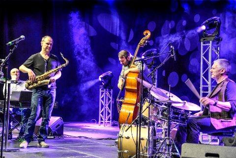 Musikk: JazzCode sørget for det kulturelle innslage -  kydret med interessante innfallsvinkler til læring.