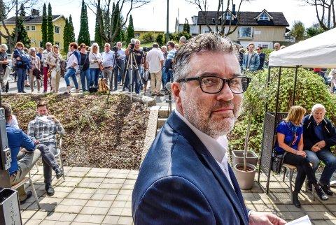 VESTFOSSEN KUNSTLABORATORIUM: Morten Viskum er daglig leder av Vestofssen Kunstlaboratorium som får 2.710.000 kroner på forslaget til statsbudsjett 2017.