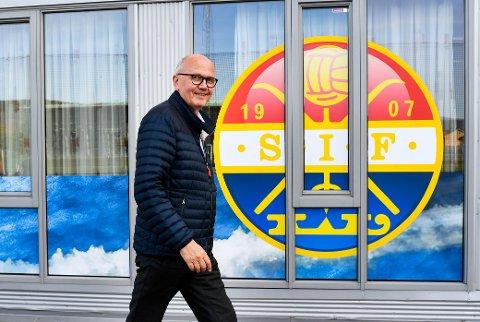 KREVENDE: Styreleder Ivar Strømsjordet forteller om en tøff periode for han og klubben.