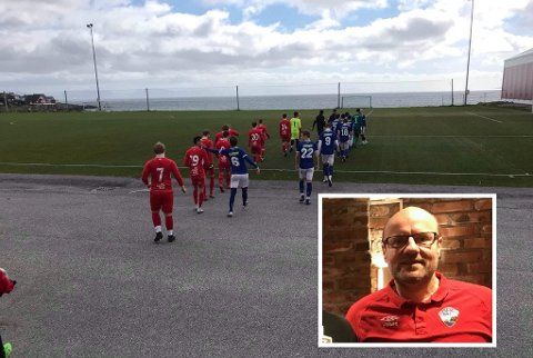 FOTBALL: Stig Erling Kristiansen byr på varer fra en virtuell meny for å sikre inntekter til HT&IF. Bildet er fra en tidligere fotballkamp.
