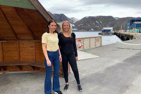 Marianne Berg, reiselivssjef og Marte Gabrielsen i Visit Nordkapp. bildet er tatt i en annen sammenheng.