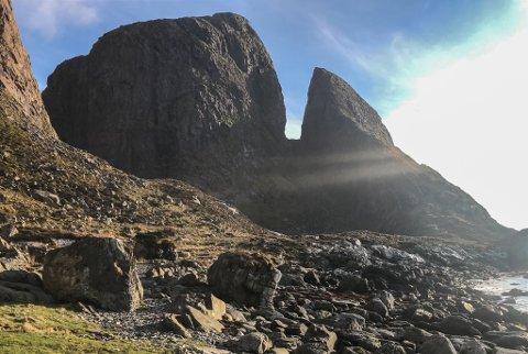 PÅ TIPSKARTET: Øya Kinn er med på den nasjonale oversikta over plassar verdt eit besøk.