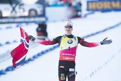 Johannes Thingnes Bø håvar inn pokalar både for sportslege resultat og for rettferdig framferd