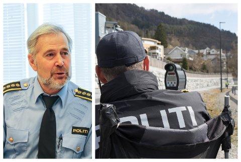 STYGT: Til no i år har politiet i Sogn og Fjordane kverrsett 46 førarkort. Dette kjem i tillegg til UP sine kontrollar i same periode.