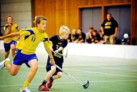 Yngre dager: Kanskje hadde Ludvik Hansen en drøm om VM-spill allerede i 1999 da han her spilte Plankecup for Slevik. (arkivfoto: Jon Olav Nesvold)