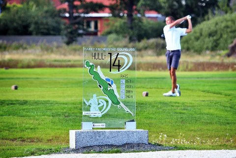 FØRST UT PÅ ØSTLANDET: Gamle Fredrikstad golfklubb åpner banen sin torsdag. Fredag følger Huseby og Hankø etter.