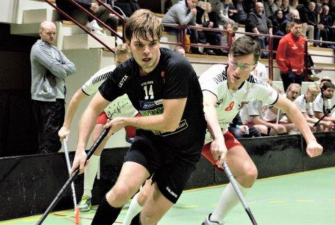 TAP: Carl Joel Fallberg og Slevik tapte hjemme for Sveiva.