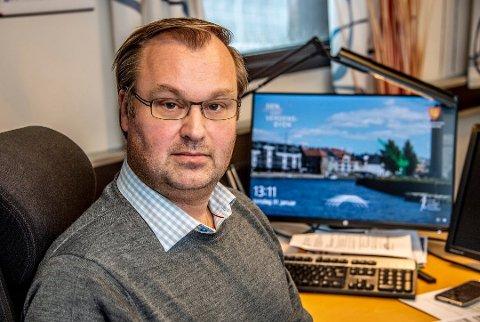 Håper å unngå flytting av arbeidsplasser: Kemner Pål Henning Klavenes for Fredrikstad og Hvaler kan miste 22 av 36 ansatte. (Arkivfoto: Geir A. Carlsson)