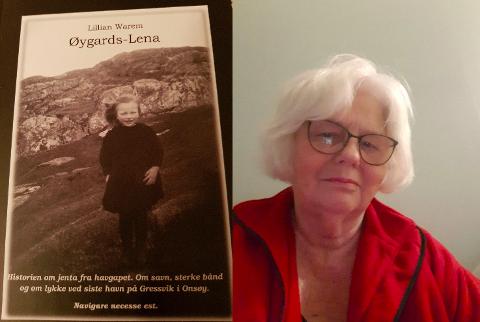 Historien i boken til Lillian Warem  finner blant annet sted på Gressvik.