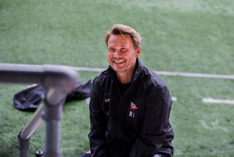 Mye bra: Bjørn Bummen Johansen og resten av FFK har fått sett gjennom prestasjonen mot Florø på video.