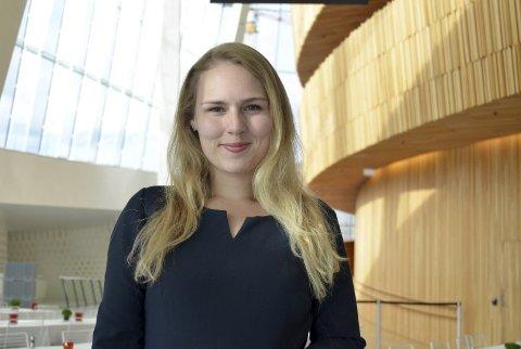 Ambassadør: Maria Abdli fra Narvik har fått en attraktive stillingen som ungdomsambassadør for den Norske Opera og Ballett.                                           Foto: Beate Sneve Larsen