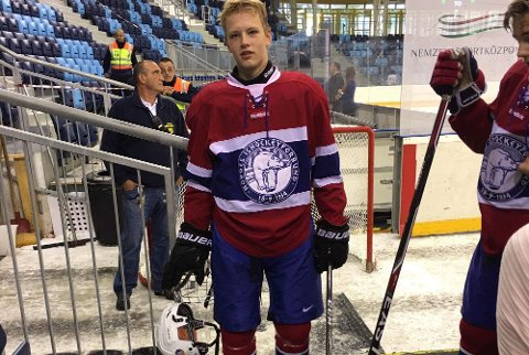 Erik Harr er klar for U18-landskamper for Norge.