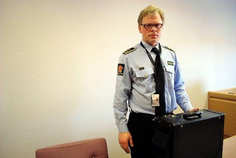 – REGELMESSIG: – Vi får regelmessig inn anmeldelser fra personer som er svindlet på nettet - for alt fra små beløp til flere millioner kroner, sier politiadvokat Gunstein Bjørgum.