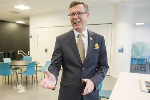 FØRSTEVALG: Dag Rune Olsen er innstilt på topp som ny UiT-rektor. Foto: Bergensavisen
