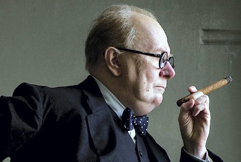 Gary Oldman som sir Winston Churchill
