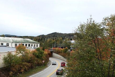 STENGES: Veidekke skal finpusse E16-traseen gjennom Vinger tunnel i Kongsvinger.