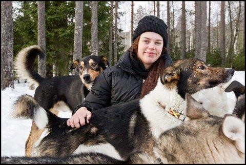RUS: For Nille Hansen Foss har hundene viktig for hennes rehabilitering for å komme ut av rusmiljøet.