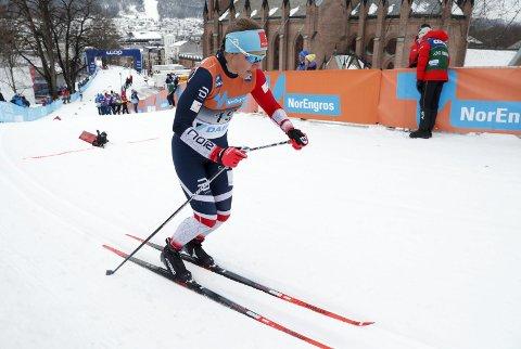 UTSLÅTT: Lotta Udnes Weng var ekstremt skuffet over egen innsats i Drammen. Foto: Terje Bendiksby / NTB scanpix